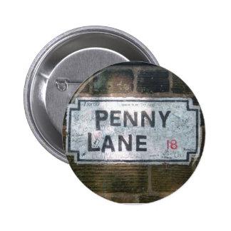 Penny Lane Street Sign Pins