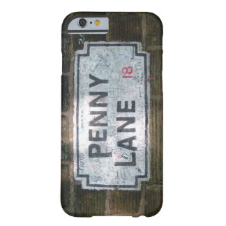 Penny Lane Street Sign Barely There iPhone 6 Case