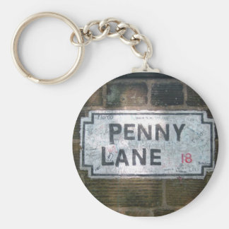 Penny Lane Street Sign Keychain