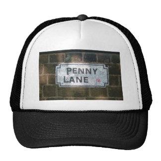 Penny Lane Street Sign, Liverpool UK Trucker Hat