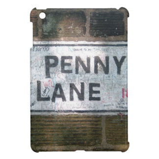 Penny Lane Street Sign, Liverpool UK iPad Mini Covers