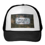 Penny Lane Street Sign, Liverpool UK Mesh Hats