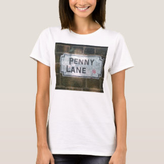 Penny Lane Street Sign T-Shirt