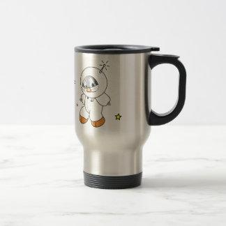 Penny Penguin Astronaut Travel Mug