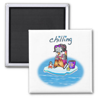 Penny Penguin: Chillin' Magnets