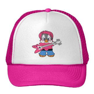 Penny Penguin Rock Star Trucker Hat