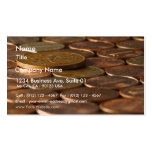 Penny Pennies Coins Money Business Card Templates