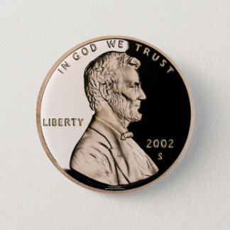 Penny Pinback Button