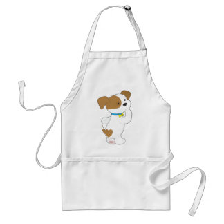 Penny PoppyLove Cute Puppy Adult Apron