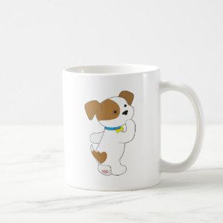 Penny PoppyLove Cute Puppy Classic White Coffee Mug