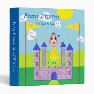 Penny Princess My Gift Is Love Binder
