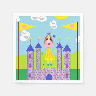 Penny Princess My Gift Is Love Paper Napkin