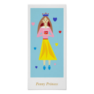 Penny Princess Posters