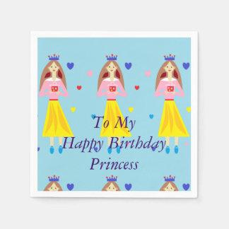 Penny Princess To My Happy Birthday Princess Paper Napkin