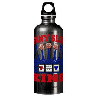 Penny Slots King Aluminum Water Bottle