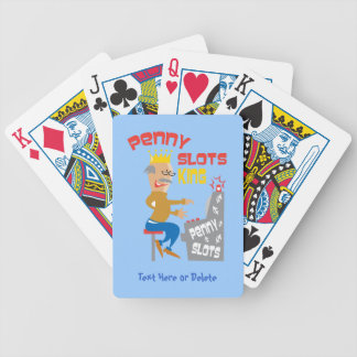 Penny Slots King - Customize It Bicycle Playing Cards