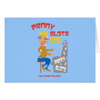 Penny Slots King - Las Vegas Nevada Card