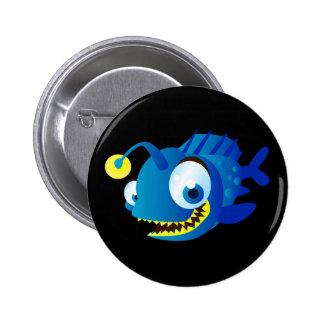 Penny The Piranha 2 Inch Round Button