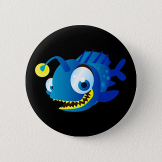 Penny The Piranha Pinback Button