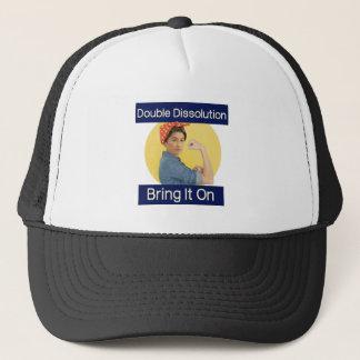 Penny The Riveter Trucker Hat