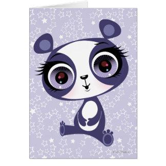 Penny the Sweet Panda Card