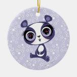 Penny the Sweet Panda Ceramic Ornament