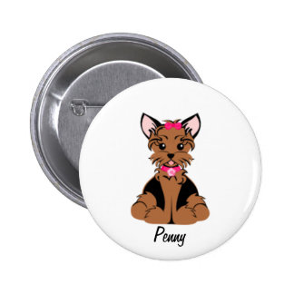 Penny the Terrier button