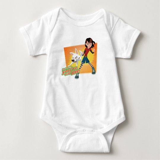 Penny, you're with me Disney Baby Bodysuit