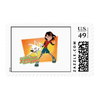 Penny, you're with me Disney Postage