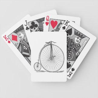 Pennyfarthing Bicycle Playing Cards