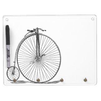 Pennyfarthing Dry Erase Board With Keychain Holder