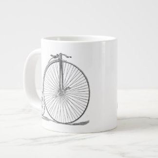 Pennyfarthing Large Coffee Mug