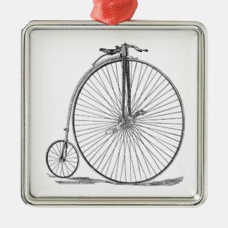 Pennyfarthing Metal Ornament