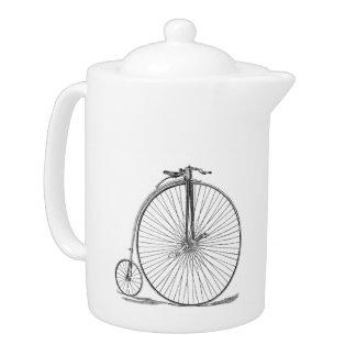Pennyfarthing Teapot