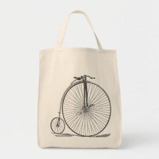 Pennyfarthing Tote Bag