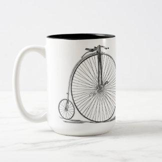 Pennyfarthing Two-Tone Coffee Mug