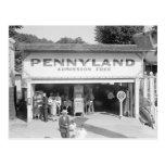 Pennyland Arcade, 1928 Postales