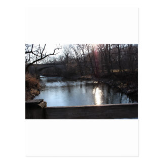 Pennypack Creek in Winter, Philadelphia, PA Postcard