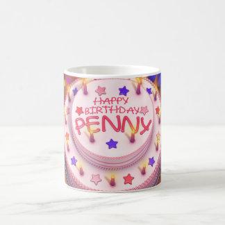 Penny's Birthday Cake Coffee Mug