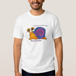Pennywinkle (The Copper Mollusk) Tee Shirt