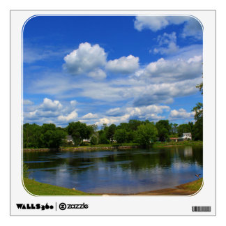 Penobscot River Afternoon Reflections II Wall Skins