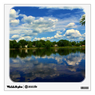 Penobscot River Afternoon Reflections Wall Graphics