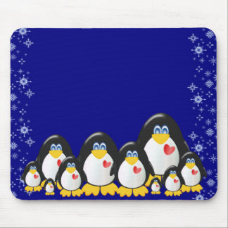 Penquin Party Highest Quality Mousepads