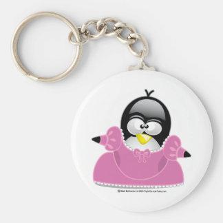 Penquin Princess Key Chain