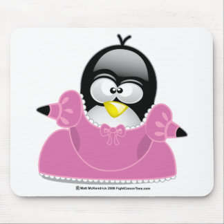 Penquin Princess Mouse Pad
