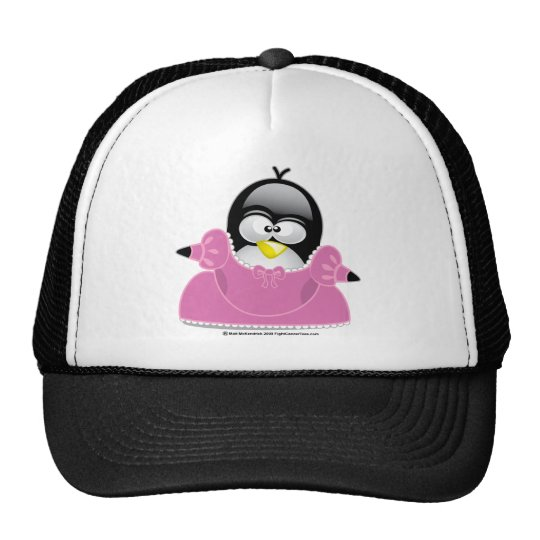 Penquin Princess Trucker Hat