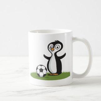 Penquin Soccer Coffee Mug