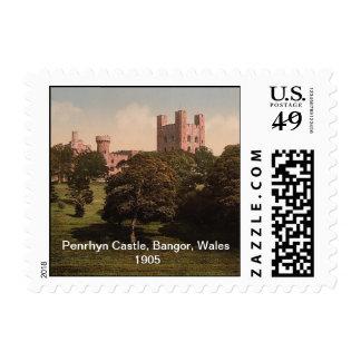 Penrhyn Castle, Bangor, Wales 1905 Postage
