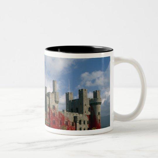 Penrhyn Castle, Gwynedd, Wales Two-Tone Coffee Mug