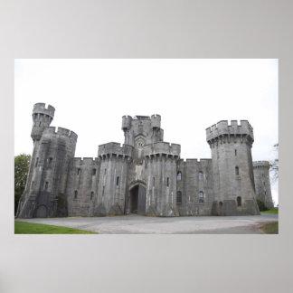 Penrhyn castle. poster